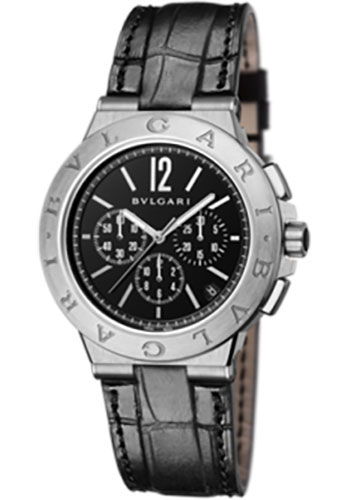 Bulgari Watches - Diagono Velocissimo 41 mm - Stainless Steel - Style No: 102333 DG41BSLDCH
