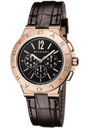 Bulgari Watches - Diagono Velocissimo 41 mm - Pink Gold - Style No: 102334 DGP41BGLDCH