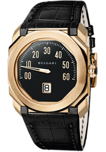 Bulgari Watches - Octo 38 mm - Pink Gold - Style No: 102335 BGOP38BGLR