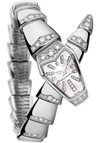 Bulgari Watches - Serpenti 26 mm - White Gold - Style No: 102366 SPW26WGD1GD1
