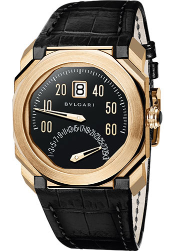 Bulgari Watches - Octo 38 mm - Pink Gold - Style No: 102370 BGOP38BGLDBR