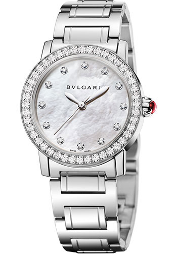 Bulgari Watches - Bulgari Bulgari 33 mm - Stainless Steel - Bracelet - Style No: 102375 BBL33WSDS/12