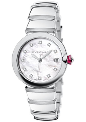 Bulgari Watches - Lucea 36 mm - Stainless Steel - Style No: 102382 LU36WSSD/11