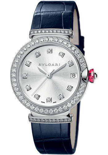 Bulgari Watches - Lucea 33 mm - White Gold - Style No: 102389