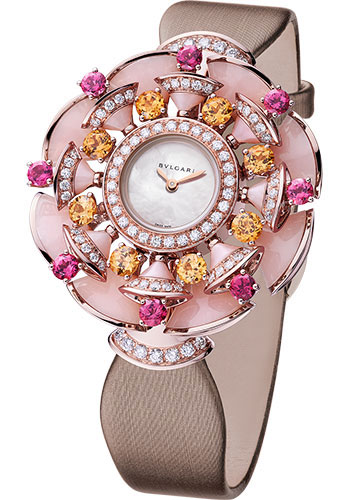 Bulgari Watches - Diva 39 mm - Pink Gold - Style No: 102420 DVP39WGD1OTGL