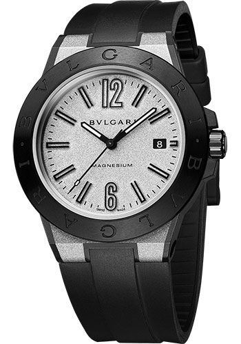 Bulgari Watches - Diagono 41 mm - Magnesium - Style No: 102427 DG41C6SMCVD