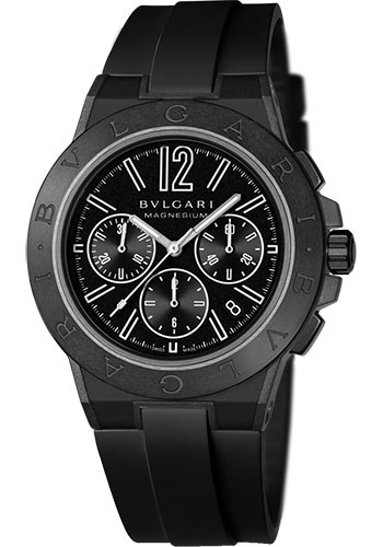 Bulgari Watches - Diagono 42 mm - Magnesium - Style No: 102428 DG42BSMCVDCH