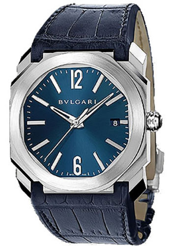 Bulgari Watches - Octo 38 mm - Stainless Steel - Style No: 102429 BGO38C3SLD