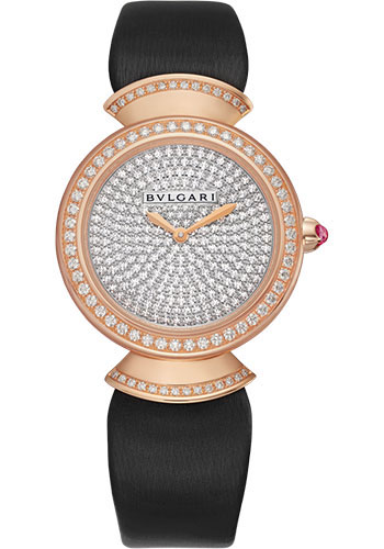 Bulgari Watches - Divas Dream 30 mm - Rose Gold - Style No: 102432