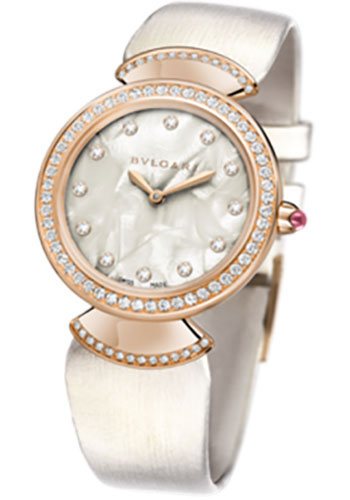 Bulgari Watches - Diva 30 mm - Pink Gold - Style No: 102433 DVP30WGDL/12