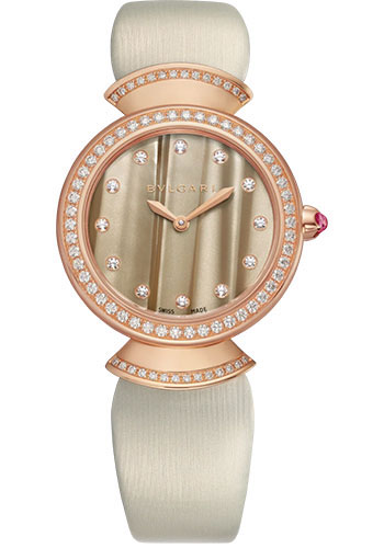 Bulgari Watches - Divas Dream 30 mm - Rose Gold - Style No: 102435