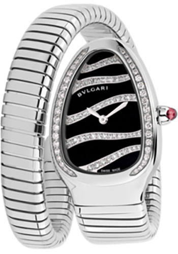 Bulgari Watches - Serpenti 35 mm - Stainless Steel - Style No: 102439 SP35BDSDS.1T