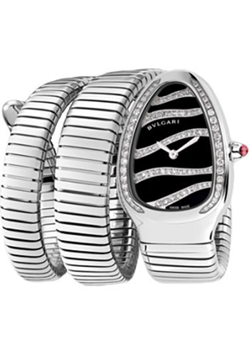 Bulgari Watches - Serpenti 35 mm - Stainless Steel - Style No: 102441 SP35BDSDS.2T