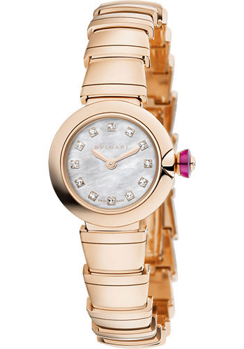 Bulgari Watches - Lucea 23 mm - Pink Gold - Style No: 102502 LUP23WGG/12