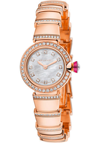 Bulgari Watches - Lucea 23 mm - Pink Gold - Style No: 102503 LUP23WGDGD1/12