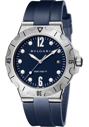 Bulgari Watches - Diagono Scuba 41 mm - Stainless Steel - Style No: 102504 DP41C3SVSD