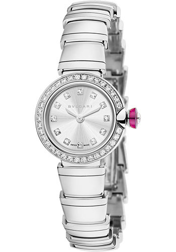 Bulgari Watches - Lucea 23 mm - White Gold - Style No: 102514 LUW23C6GDG/12