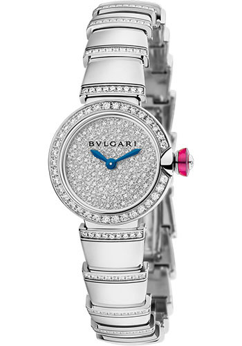 Bulgari Watches - Lucea 23 mm - White Gold - Style No: 102515 LUW23D2GDGD1