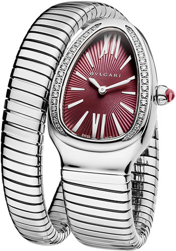 Bulgari Watches - Serpenti Tubogas - 35 mm - Stainless Steel - Style No: 102529 SP35C7SDS.1T