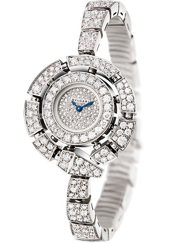 Bulgari Watches - Serpenti Jewellery - 30 mm - White Gold - Style No: 102535
