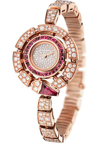 Bulgari Watches - Serpenti 30 mm - Pink Gold - Style No: 102536 SPP30D2RUGD2C