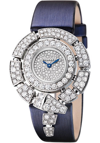 Bulgari Watches - Serpenti 30 mm - White Gold - Style No: 102538 SPW30D2GD2L