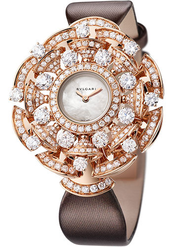 Bulgari Watches - Diva 39 mm - Pink Gold - Style No: 102546 DVP39WGD2L