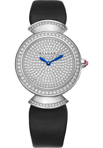 Bulgari Watches - Divas Dream 30 mm - White Gold - Style No: 102561