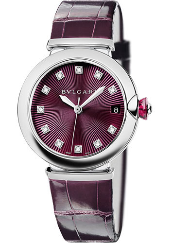 Bulgari Watches - Lucea 36 mm - Stainless Steel - Style No: 102563 LU36C7SLD/11