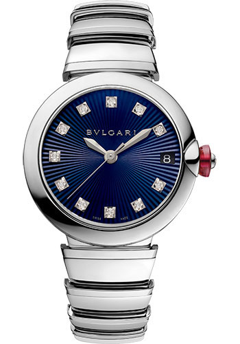 Bulgari Watches - Lucea 33 mm - Stainless Steel - Style No: 102564