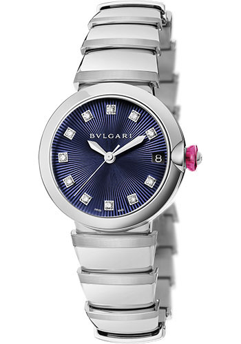 Bulgari Watches - Lucea 33 mm - Stainless Steel - Style No: 102564 LU33C3SSD/11