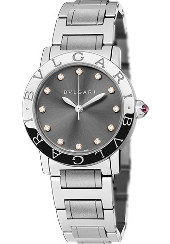 Bulgari Watches - Bulgari Bulgari 33 mm - Stainless Steel - Bracelet - Style No: 102567 BBL33C6SS/12