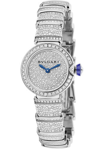 Bulgari Watches - Lucea 23 mm - White Gold - Style No: 102574