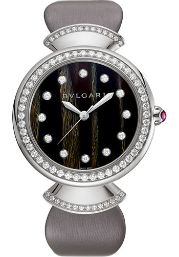 Bulgari Watches - Divas Dream 37 mm - White Gold - Style No: 102576
