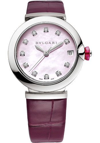 Bulgari Watches - Lucea 33 mm - Stainless Steel - Style No: 102609