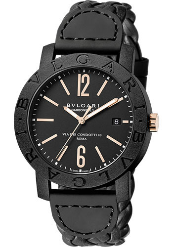 Bulgari Watches - Bulgari Bulgari 40 mm - Carbon Fiber - Style No: 102632 BBP40BCGLD/N
