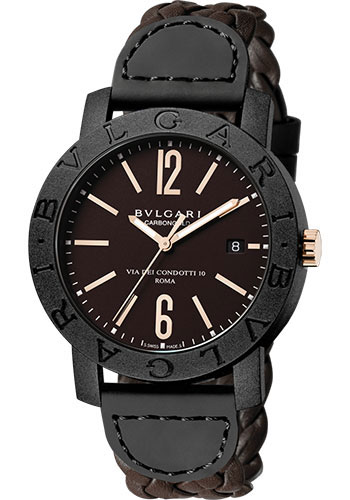 Bulgari Watches - Bulgari Bulgari 40 mm - Carbon Fiber - Style No: 102633 BBP40C11CGLD