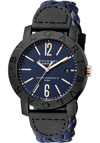 Bulgari Watches - Bulgari Bulgari 40 mm - Carbon Fiber - Style No: 102634 BBP40C3CGLD