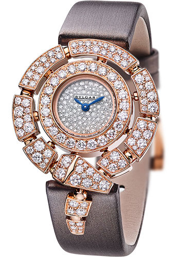 Bulgari Watches - Serpenti Jewellery - 30 mm - Rose Gold - Style No: 102676