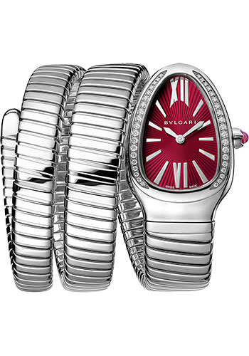 Bulgari Watches - Serpenti Tubogas - 35 mm - Stainless Steel - Style No: 102682