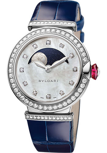 Bulgari Watches - Lucea 36 mm - White Gold - Style No: 102687