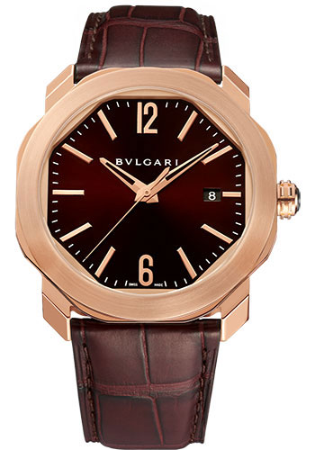 Bulgari Watches - Octo Roma - 41 mm - Rose Gold - Style No: 102702