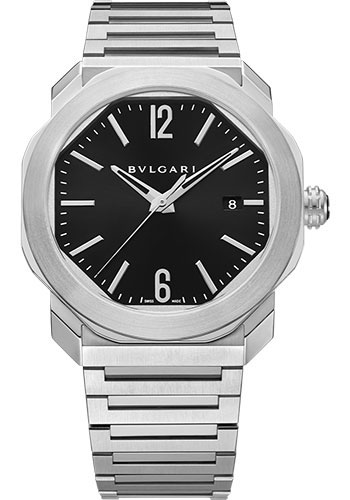 Bulgari Watches - Octo Roma - 41 mm - Stainless Steel - Style No: 102704