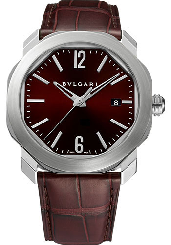 Bulgari Watches - Octo Roma - 41 mm - Stainless Steel - Style No: 102705