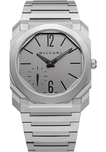 Bulgari Watches - Octo Finissimo - 40 mm - Titanium - Style No: 102713