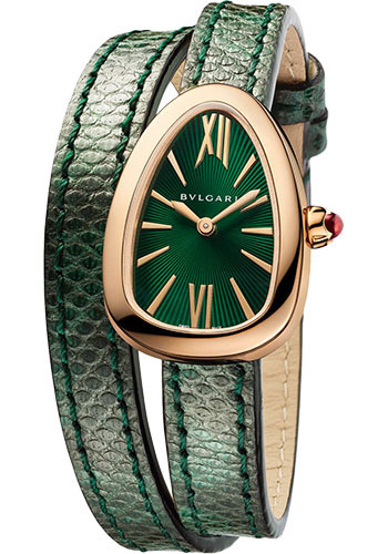 Bulgari Watches - Serpenti 27 mm - Pink Gold - Style No: 102726 SPP27C4PGL