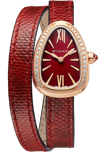 Bulgari Watches - Serpenti 27 mm - Rose Gold - Style No: 102730
