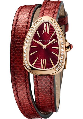 Bulgari Watches - Serpenti 27 mm - Pink Gold - Style No: 102730 SPP27C9PGDL