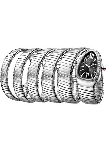 Bulgari Watches - Serpenti Tubogas - 35 mm - Stainless Steel - Style No: 102736