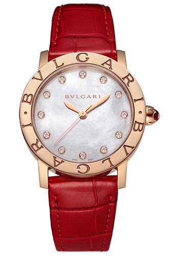 Bulgari Watches - Bvlgari Bvlgari 33 mm - Rose Gold - Style No: 102750
